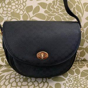 Authentic Vintage Gucci Purse Bag Black